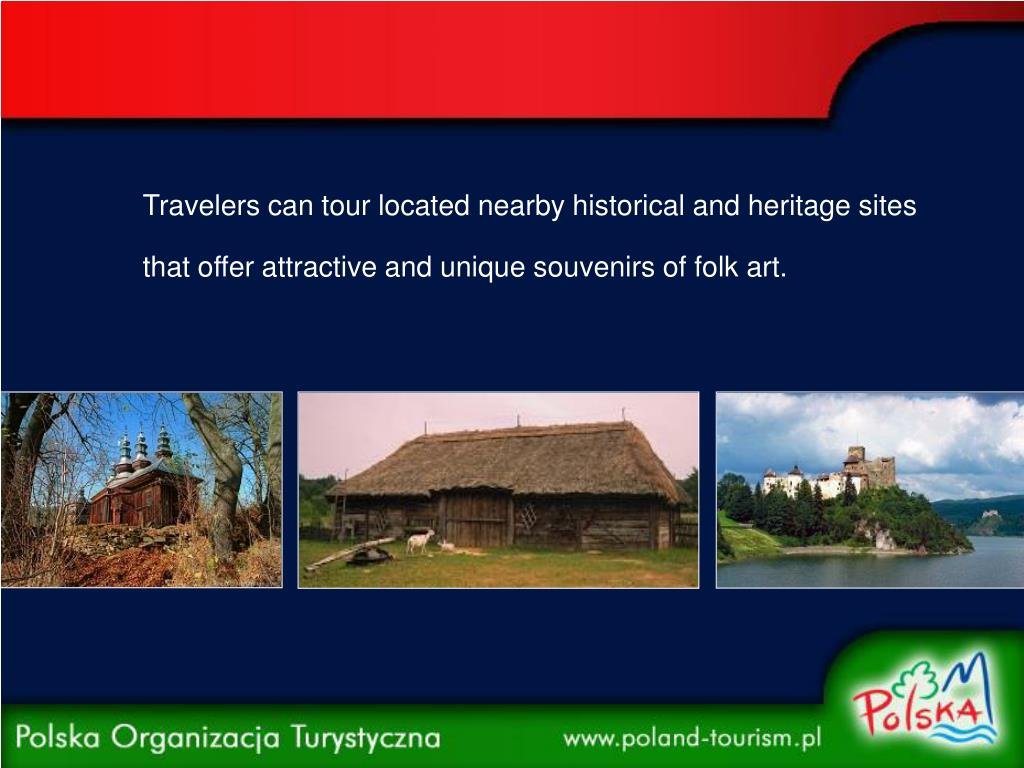 Travelers can tour located nearby historical and heritage sites