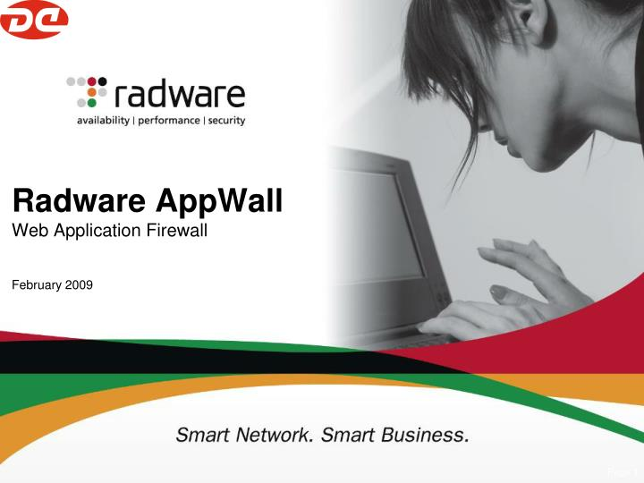 radware appwall web application firewall february 2009 n.