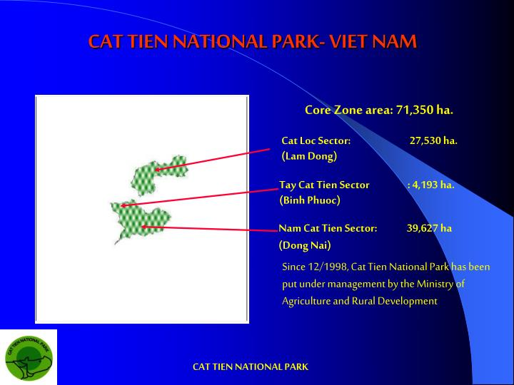Cat tien national park viet nam