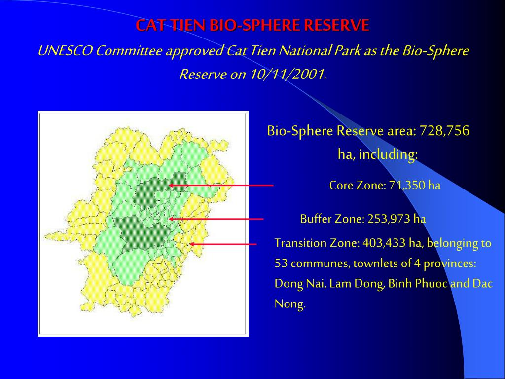 Core Zone: 71,350 ha