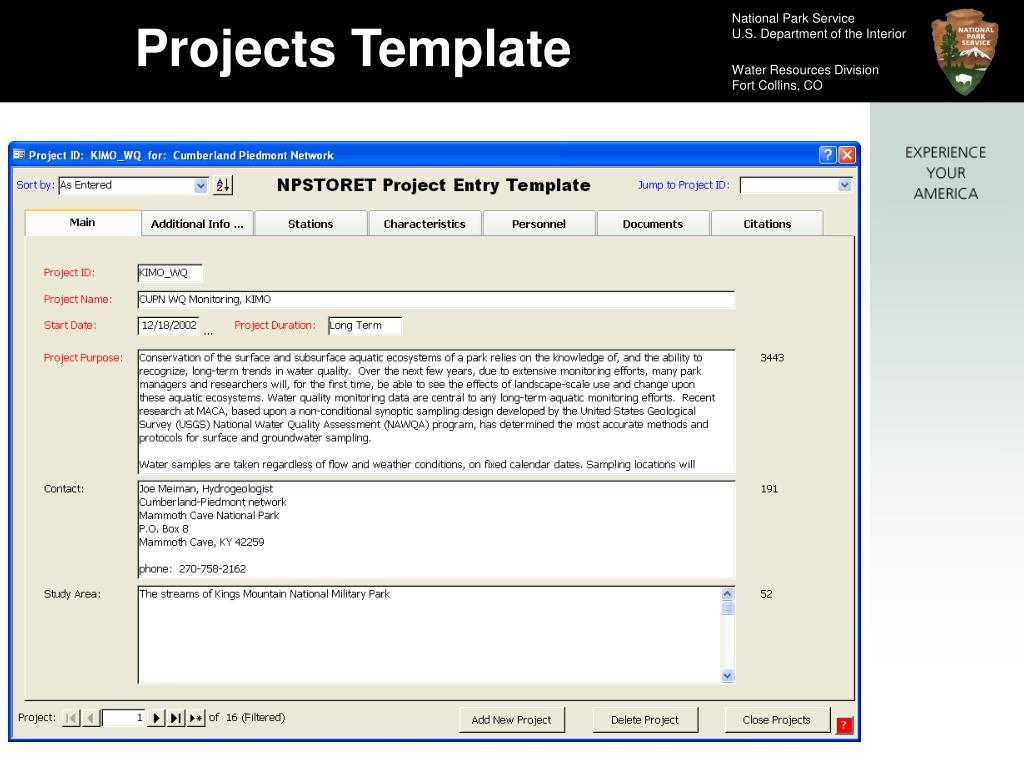 Projects Template