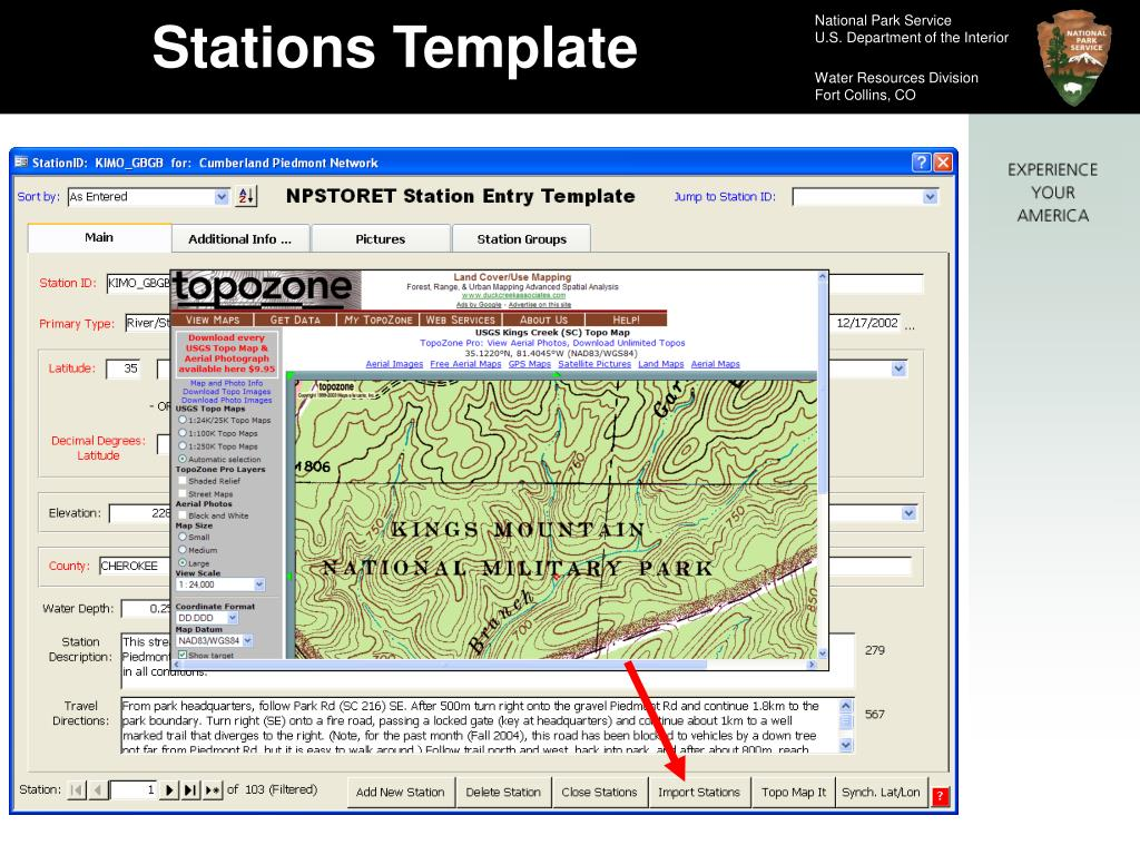 Stations Template