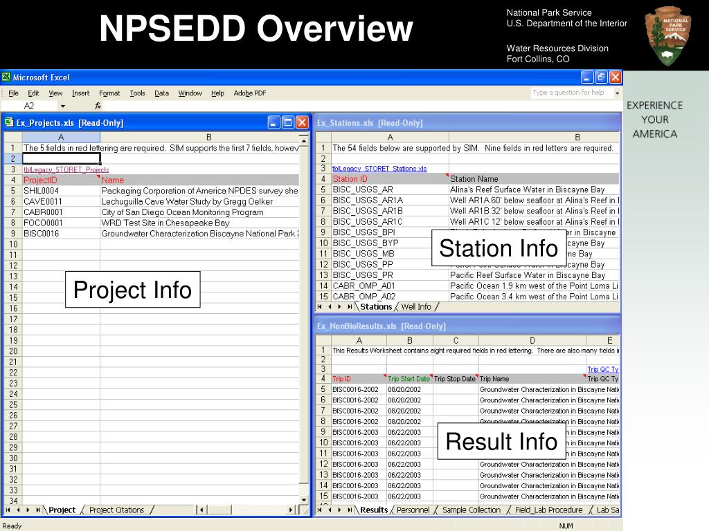 NPSEDD Overview