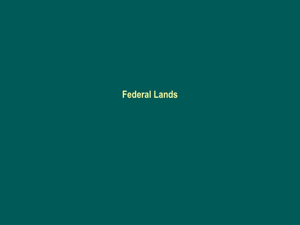 federal lands l.
