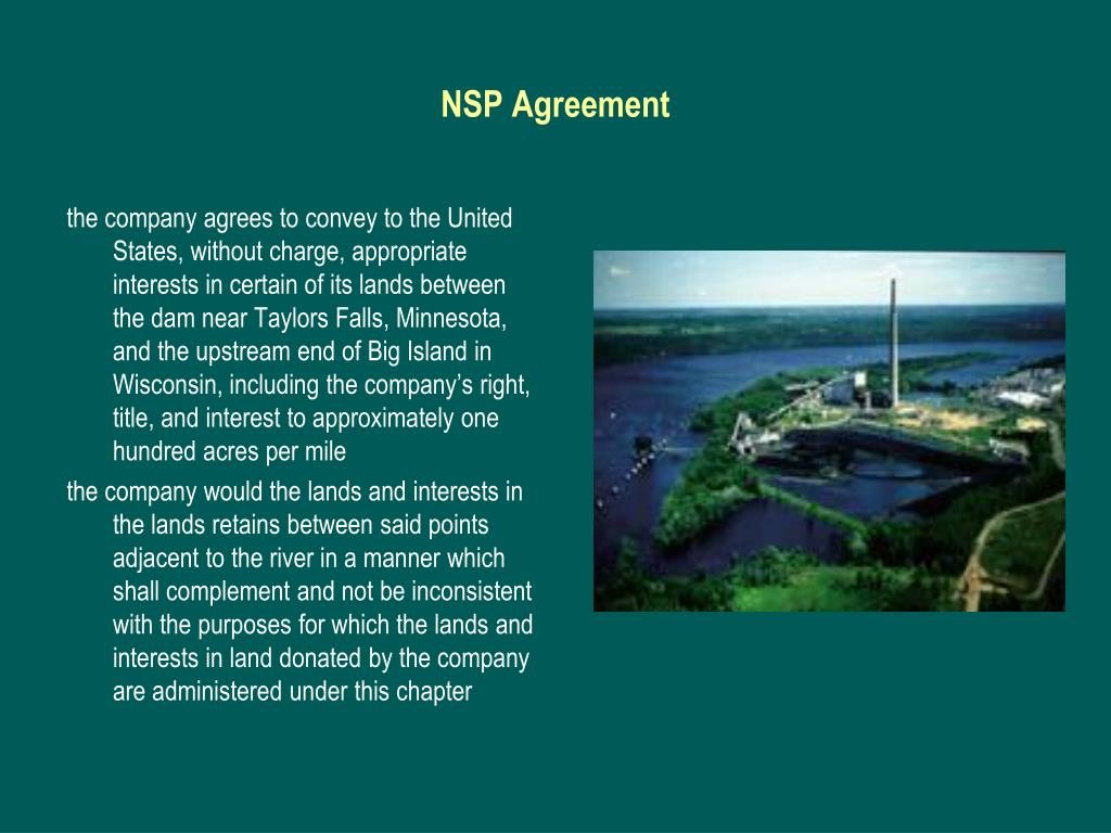 NSP Agreement
