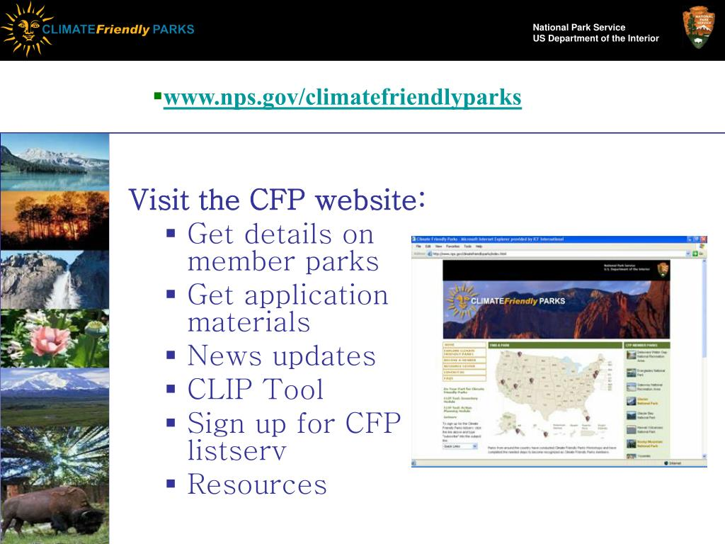 www.nps.gov/climatefriendlyparks