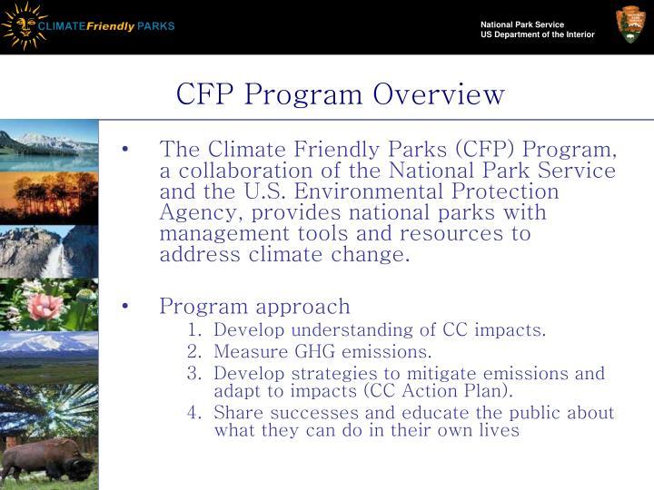 CFP Program Overview