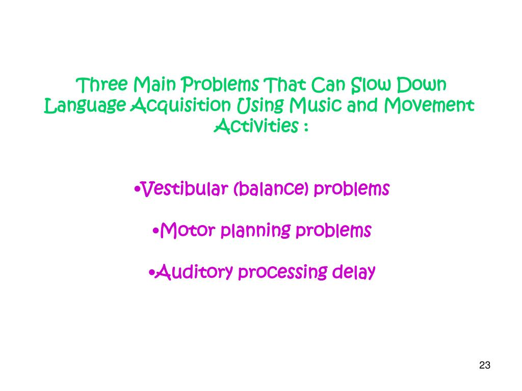 Three Main Problems That Can Slow Down