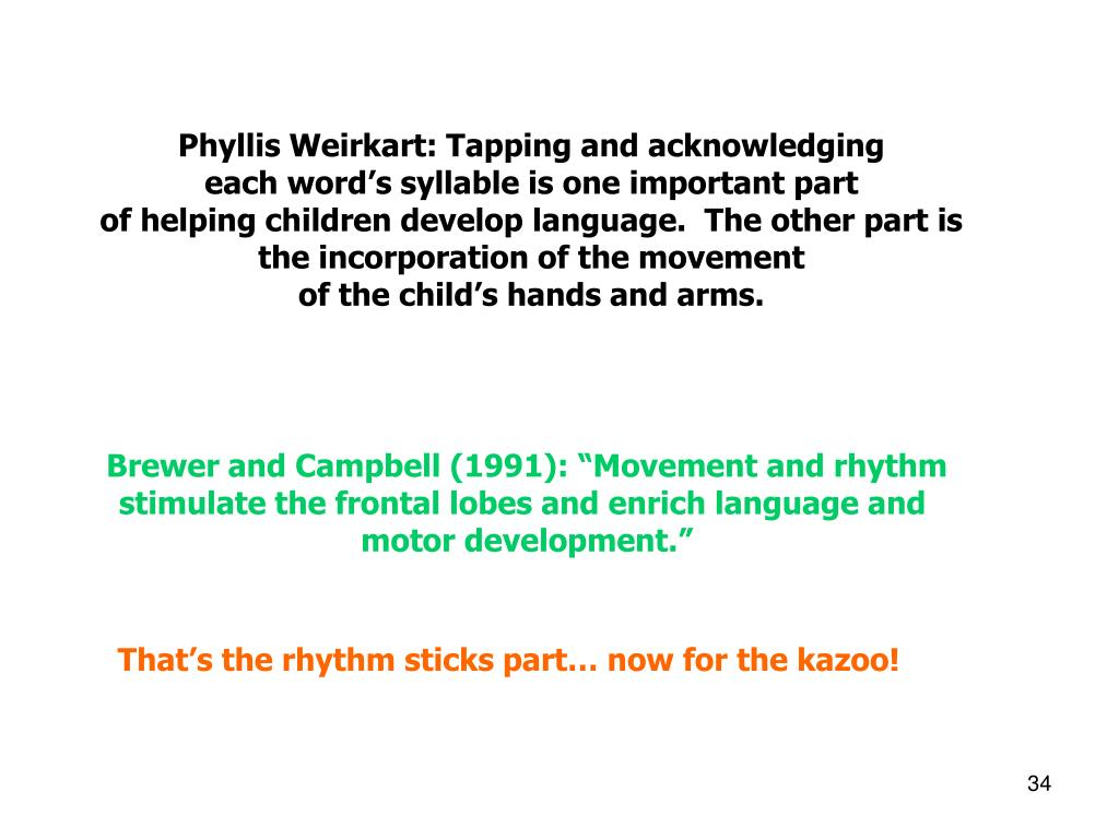 Phyllis Weirkart: Tapping and acknowledging