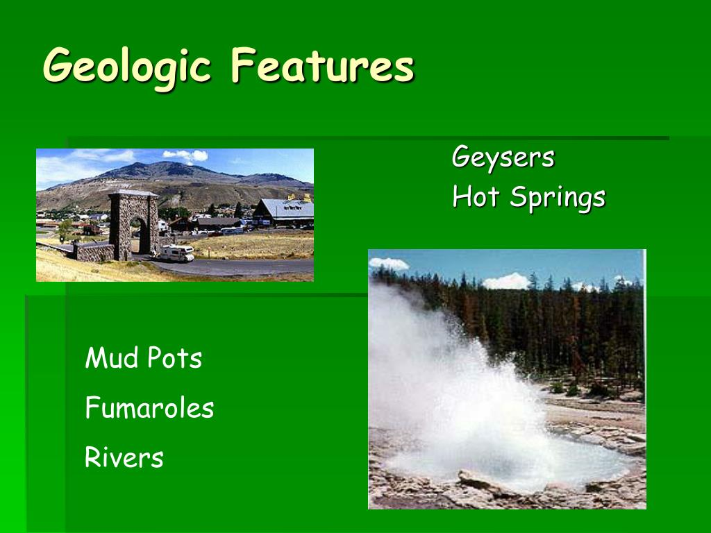 Geologic Features