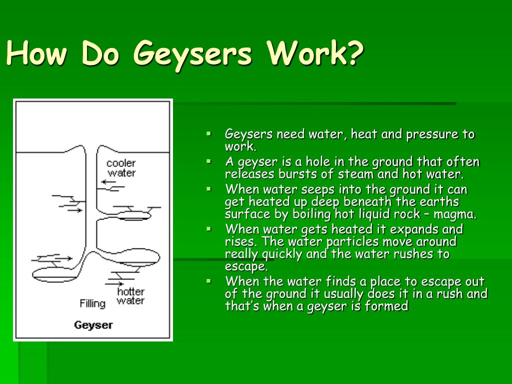 How Do Geysers Work?