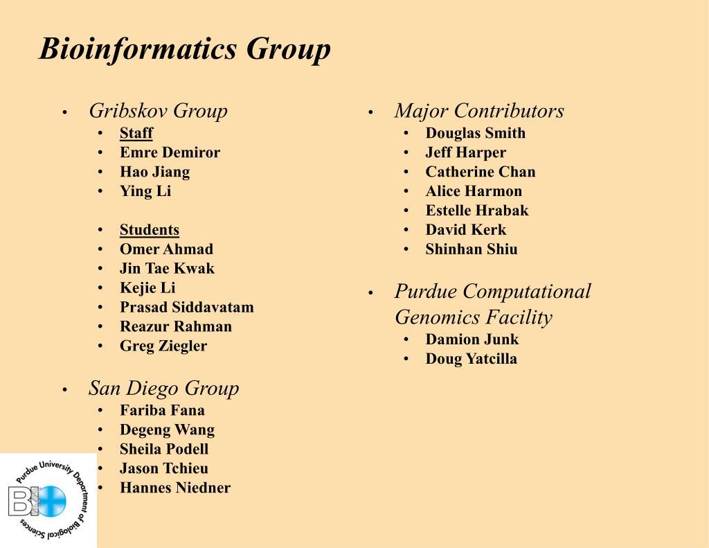Gribskov Group
