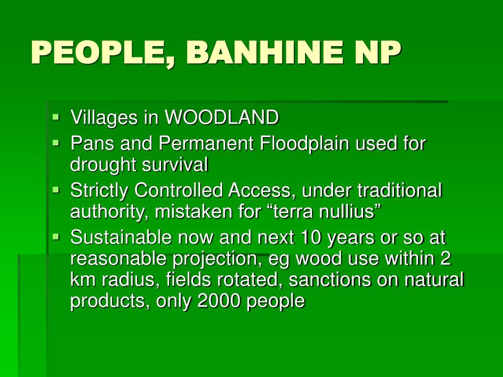 PEOPLE, BANHINE NP