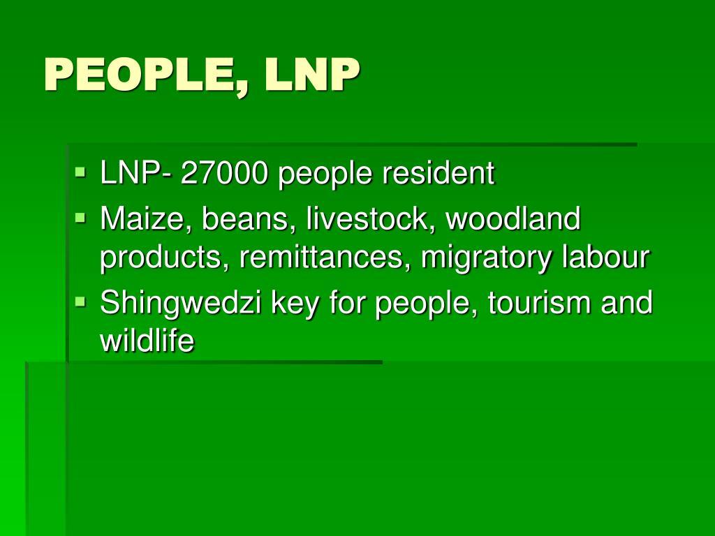 PEOPLE, LNP