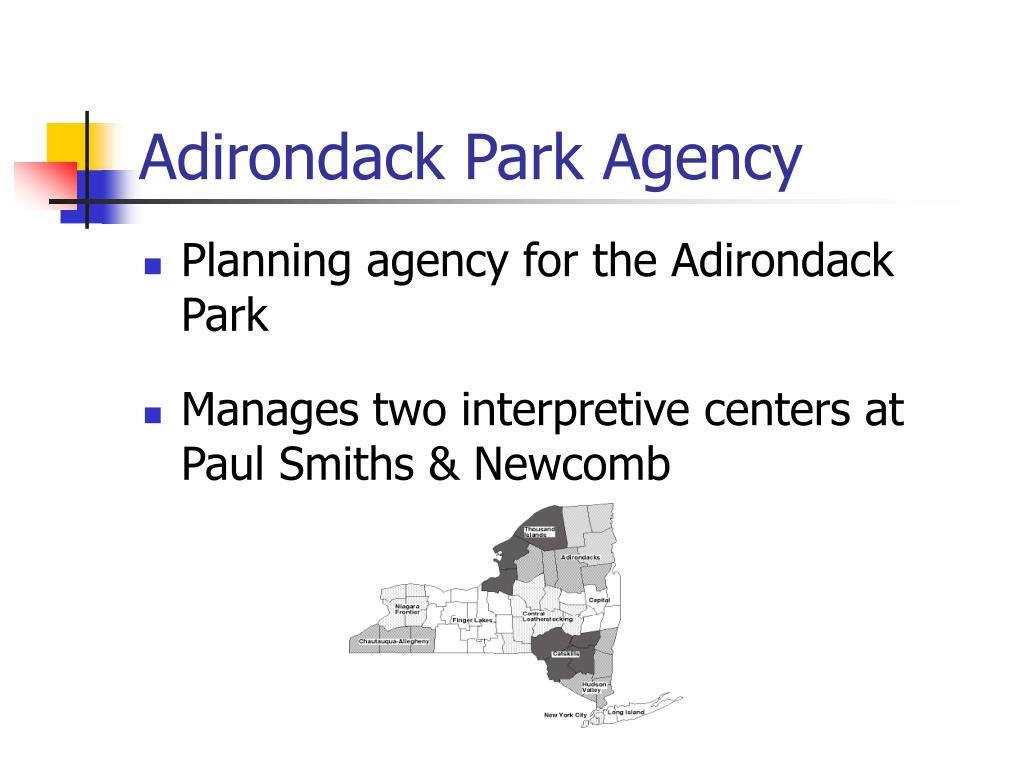 Adirondack Park Agency