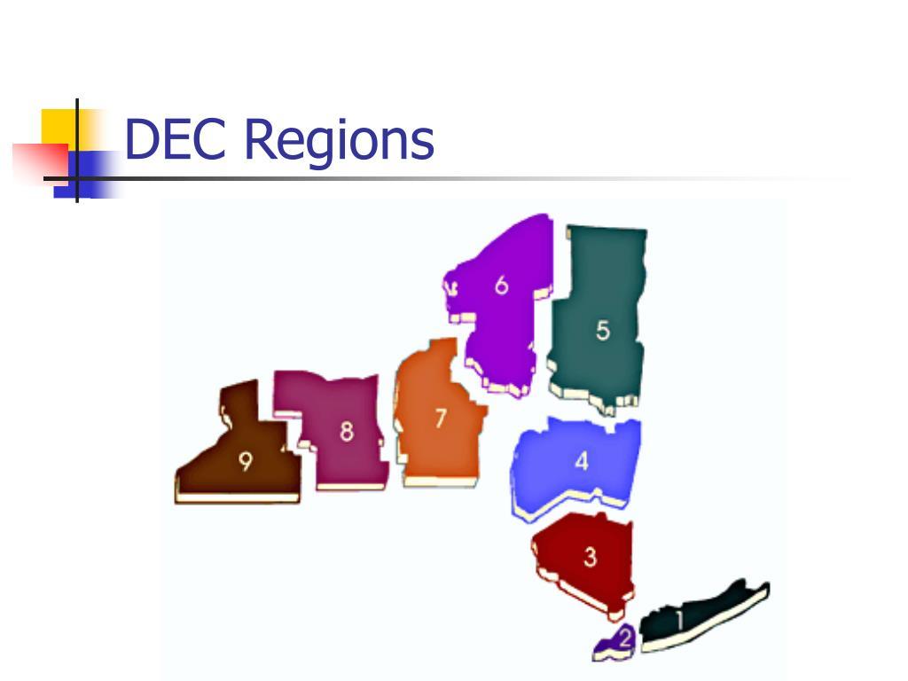 DEC Regions