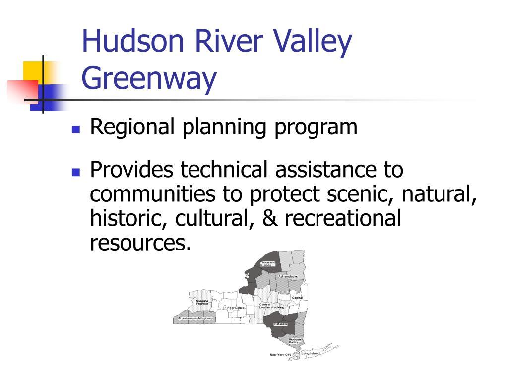 Hudson River Valley Greenway