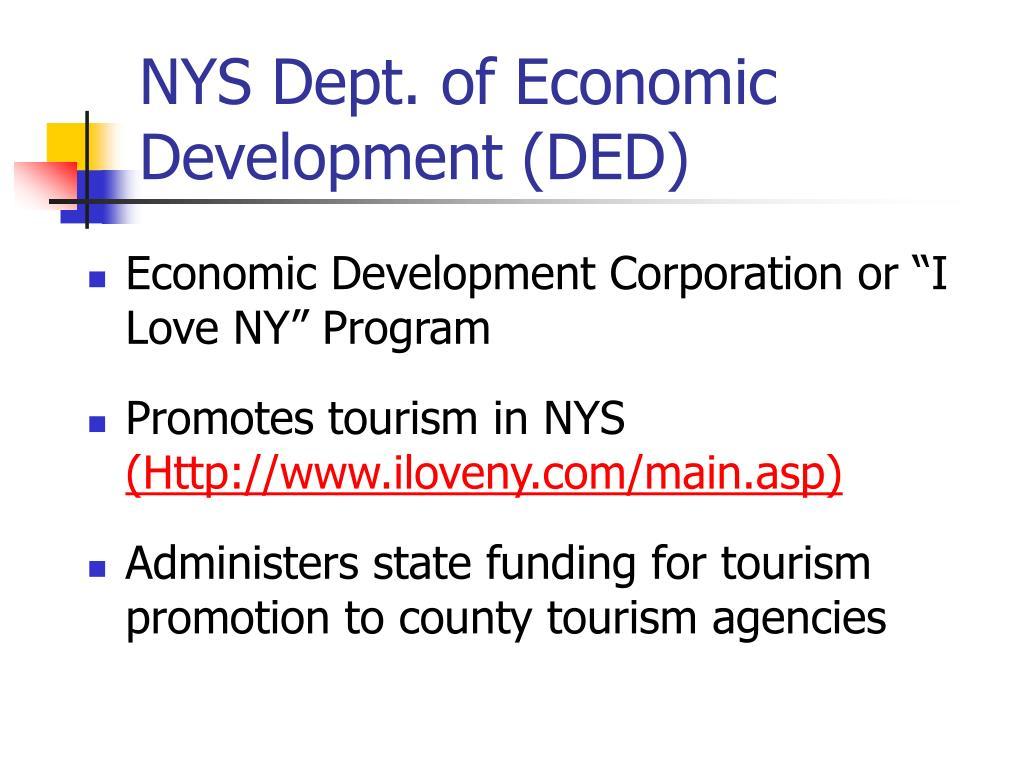 NYS Dept. of Economic Development (DED)