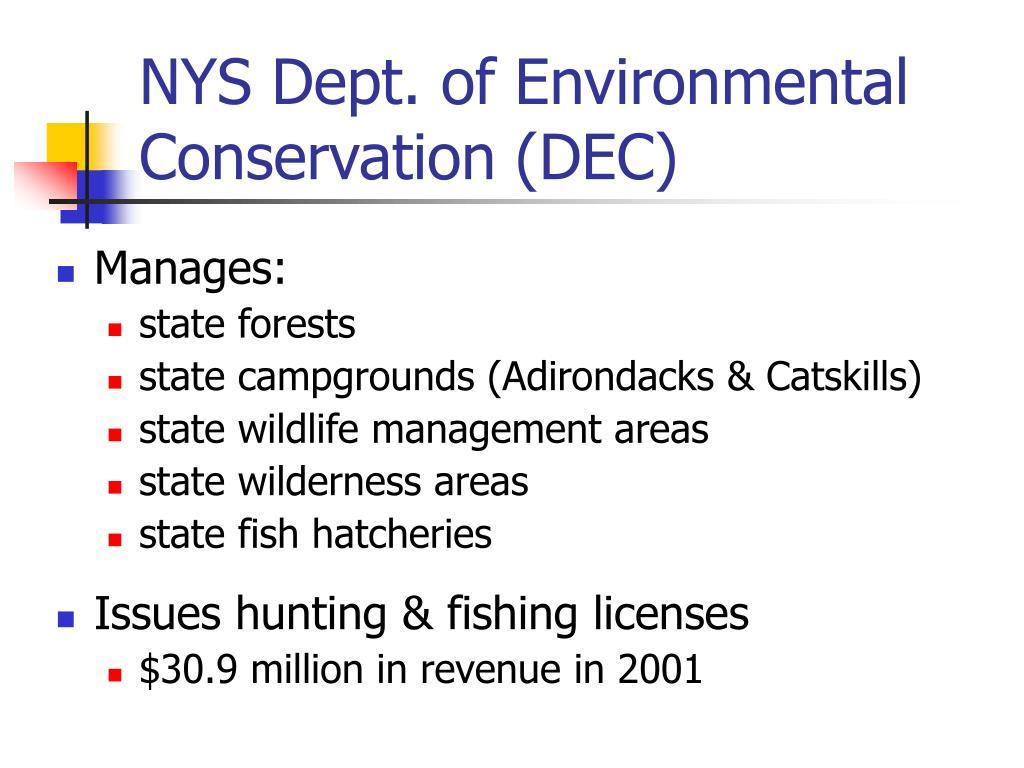 NYS Dept. of Environmental Conservation (DEC)