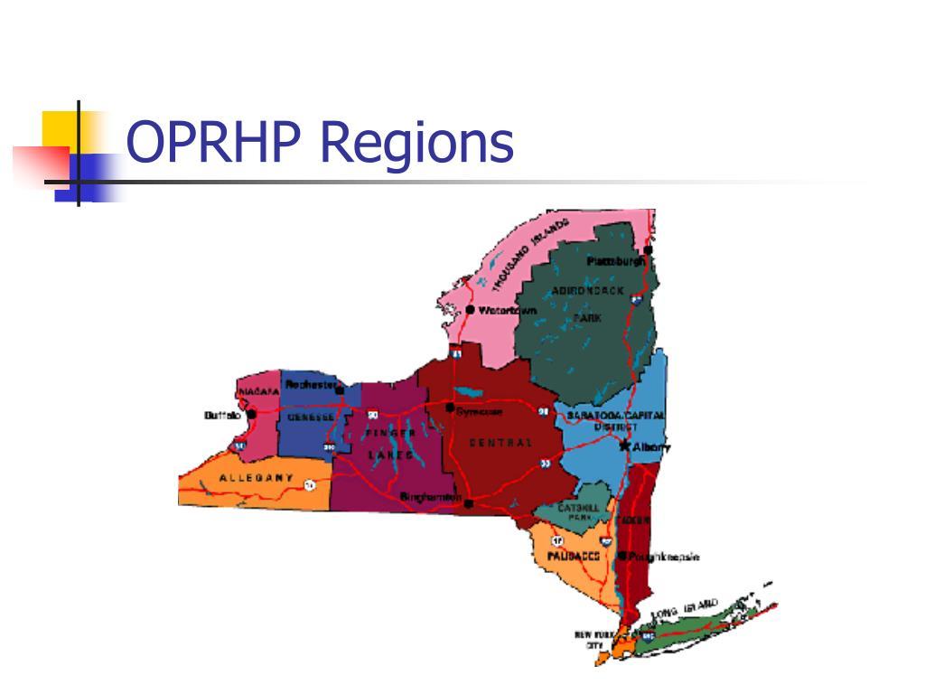 OPRHP Regions