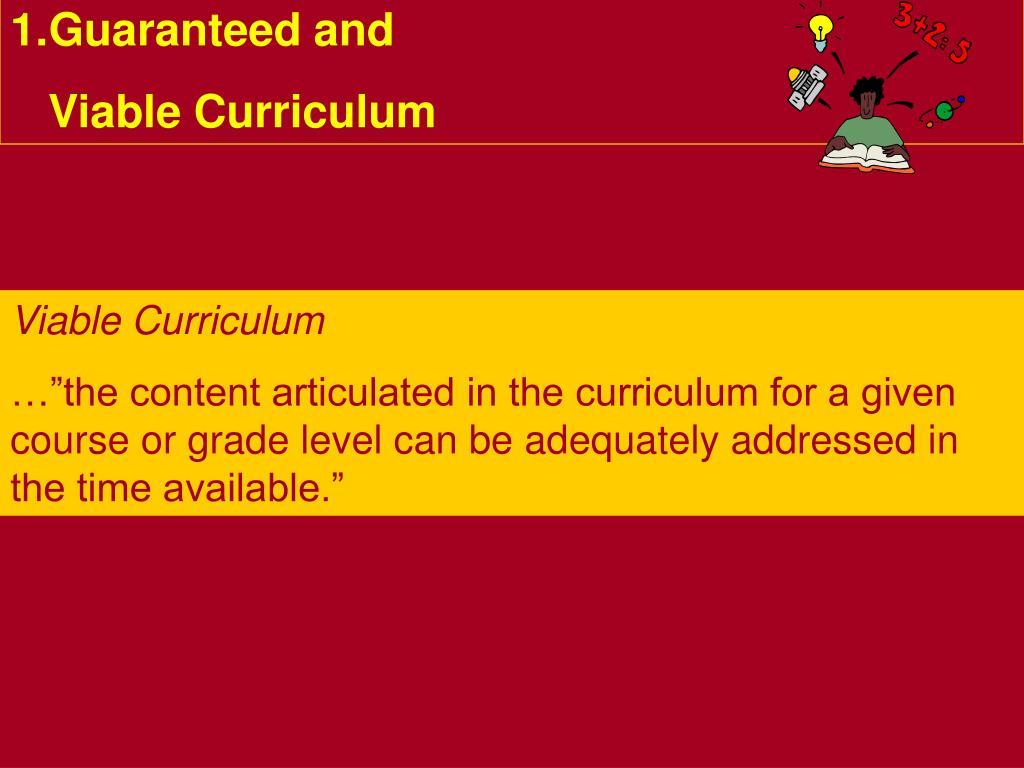 Guaranteed and