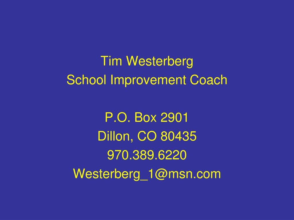Tim Westerberg