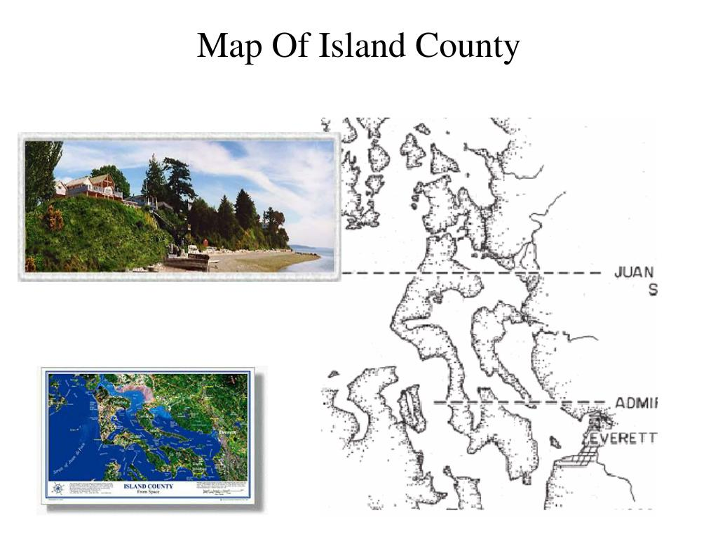 Map Of Island County