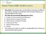 green parks ems toolkit cont21