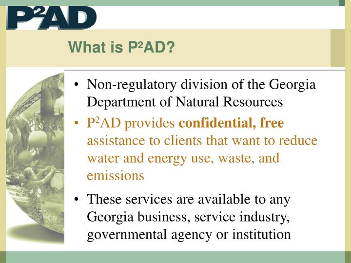 What is p ad