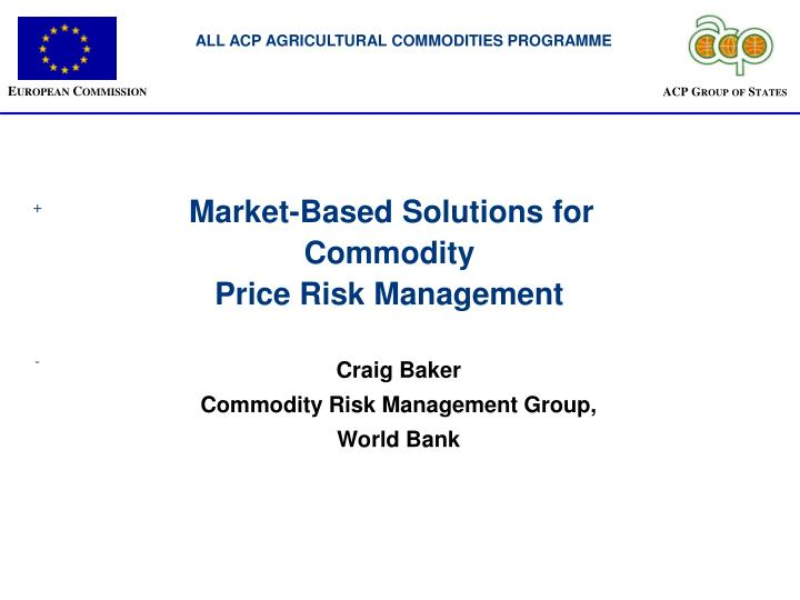 ALL ACP AGRICULTURAL COMMODITIES PROGRAMME