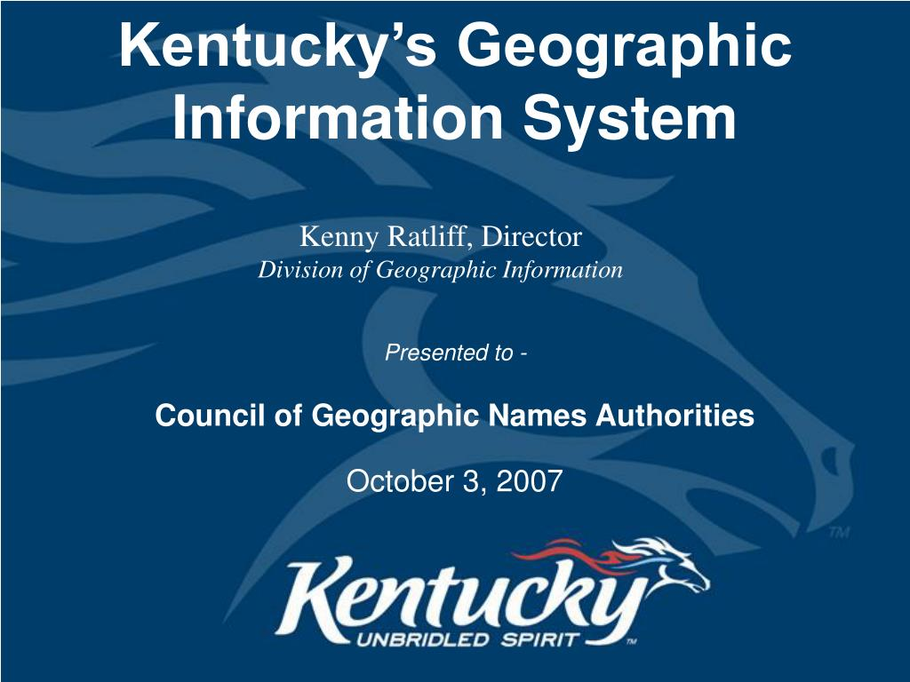 kentucky s geographic information system l.