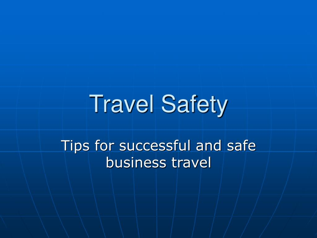 travel safety l.
