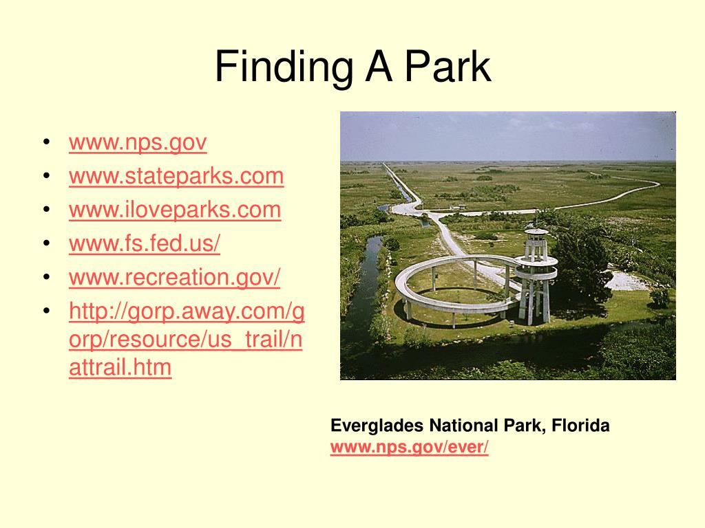 Finding A Park