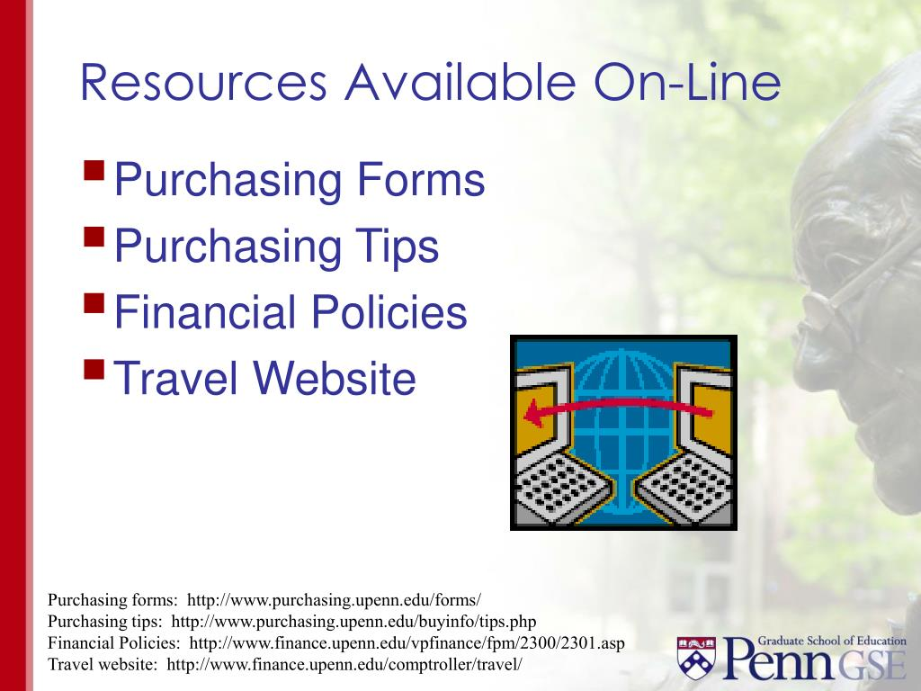 Resources Available On-Line