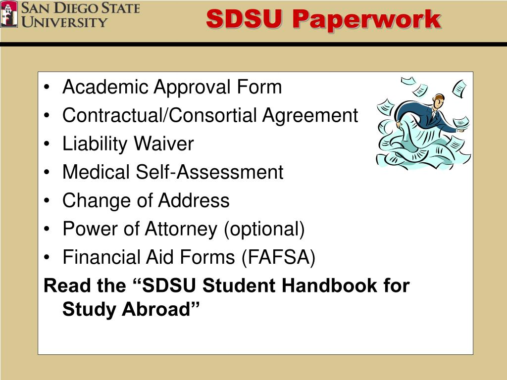SDSU Paperwork