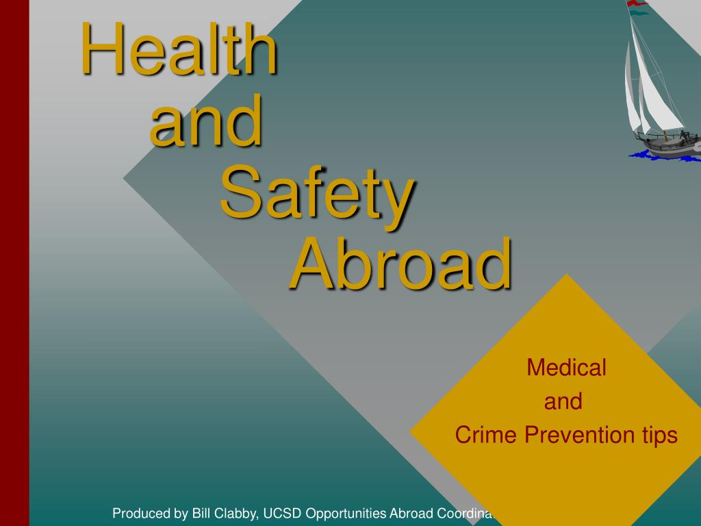 health and safety abroad
