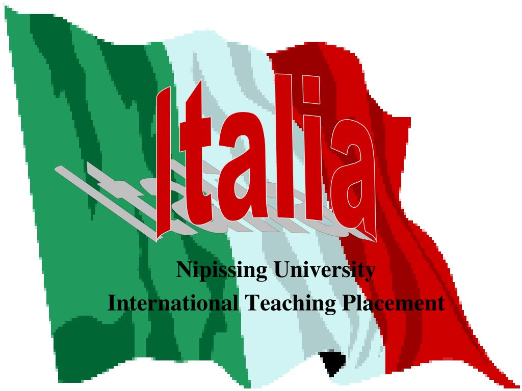 nipissing university international teaching placement l.