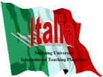 nipissing university international teaching placement
