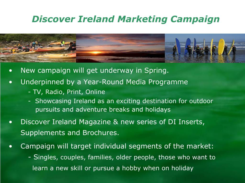 Discover Ireland Marketing Campaign