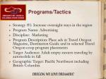 programs tactics8