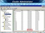 cluster administrator37