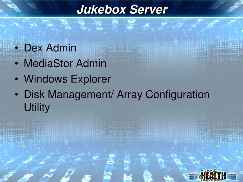 Jukebox Server