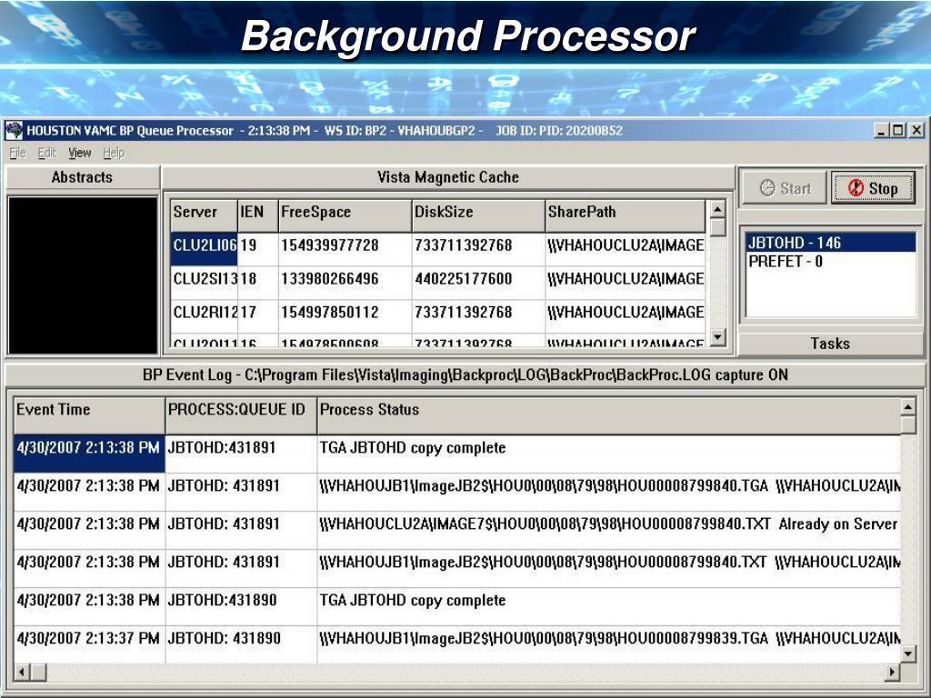 Background Processor