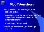 meal vouchers