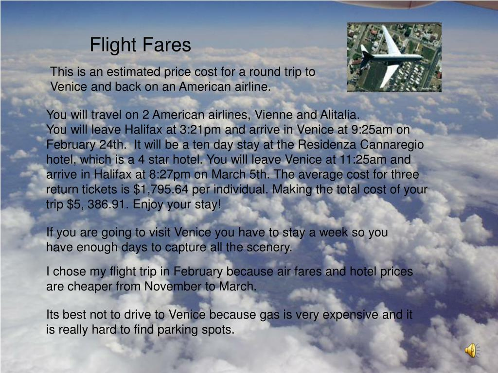 Flight Fares