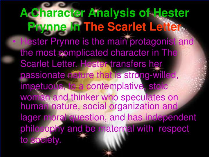 a character analysis of arthur dimmesdale in the scarlet letter