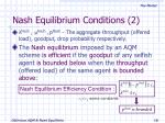 nash equilibrium conditions 2