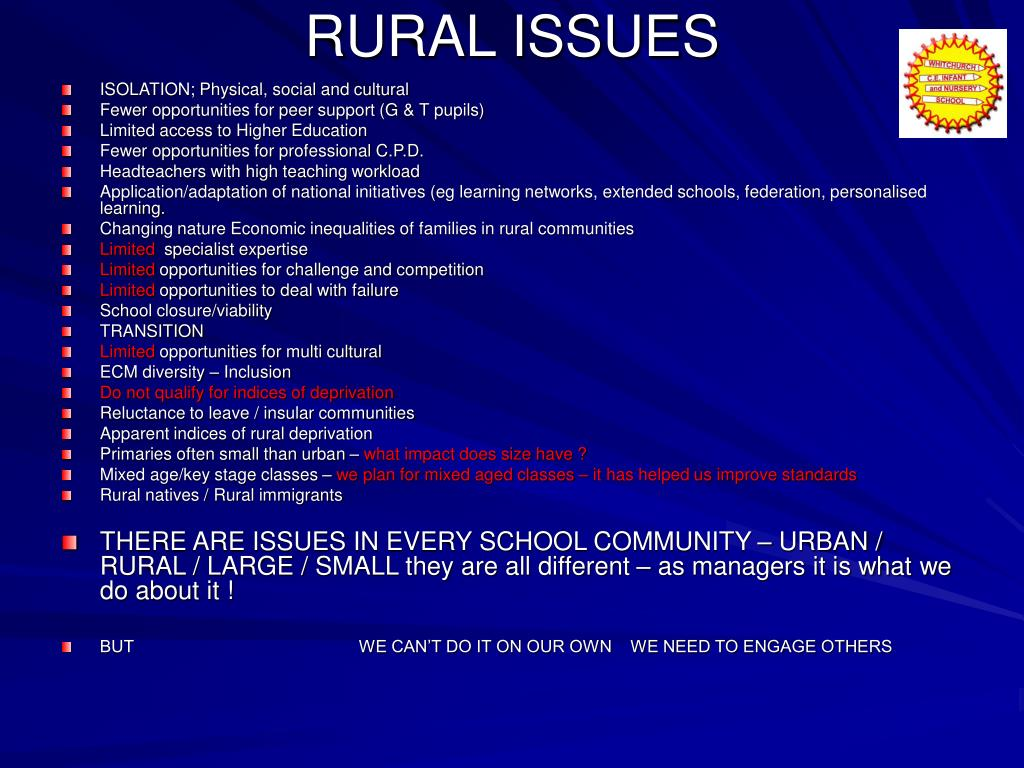 RURAL ISSUES