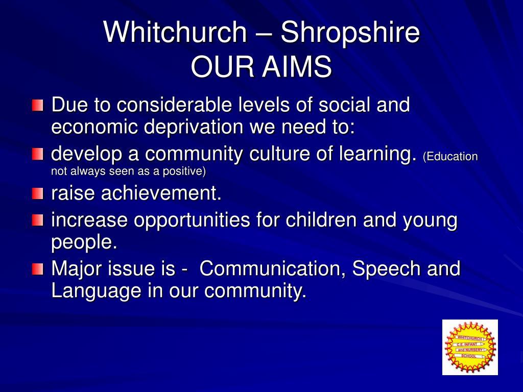 Whitchurch – Shropshire