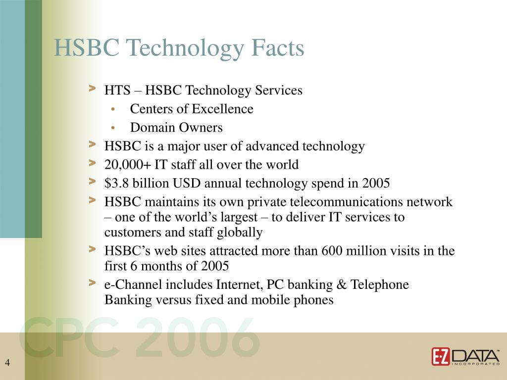 HSBC Technology Facts